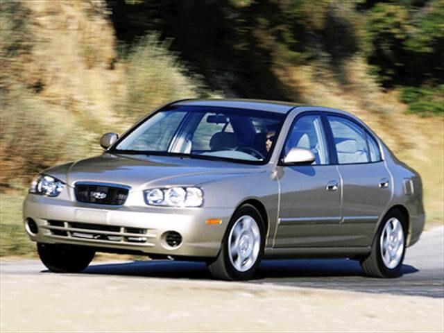 2003 Hyundai Elantra Gls Sedan 4d Used Car Prices Kelley Blue Book