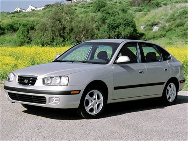 Most Popular Hatchbacks of 2003 - 2003 Hyundai Elantra