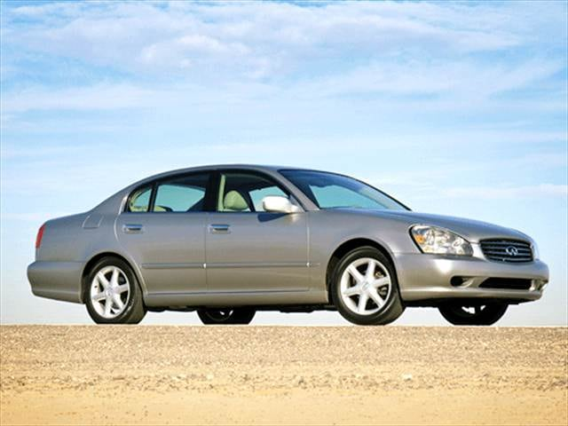 Top Consumer Rated Sedans of 2003 - 2003 INFINITI Q
