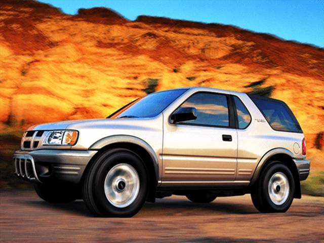 Most Fuel Efficient SUVs of 2003 - 2003 Isuzu Rodeo Sport