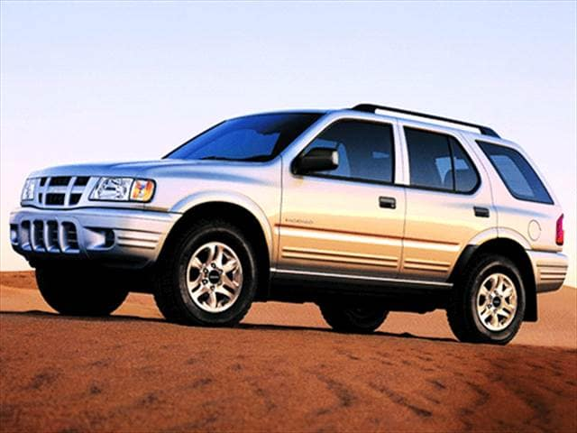 Most Fuel Efficient SUVs of 2003 - 2003 Isuzu Rodeo