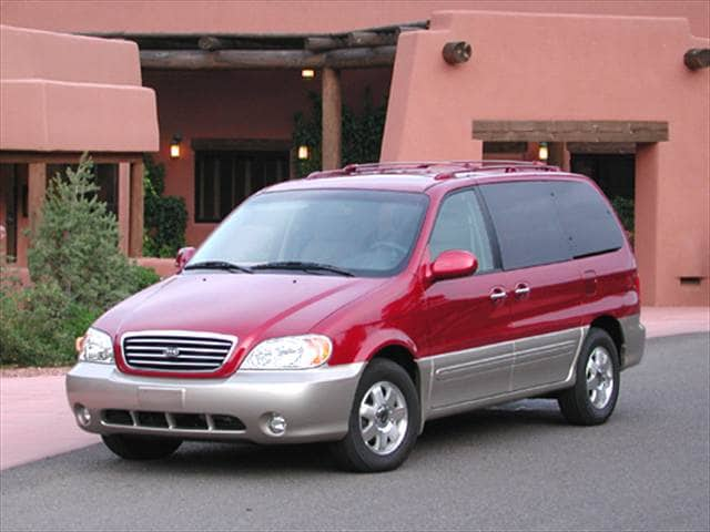 Most Popular Vans/Minivans of 2003
