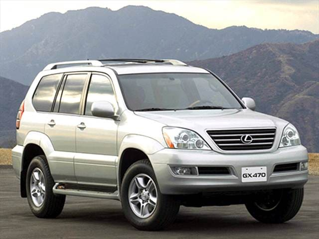Top Consumer Rated SUVs of 2003 - 2003 Lexus GX