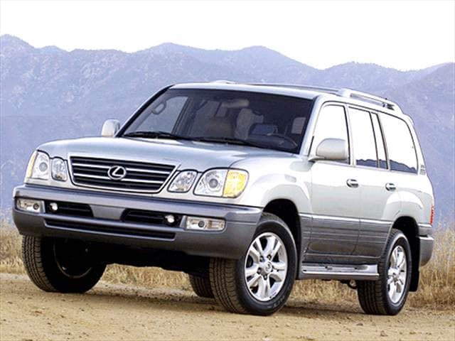 Top Consumer Rated SUVs of 2003 - 2003 Lexus LX