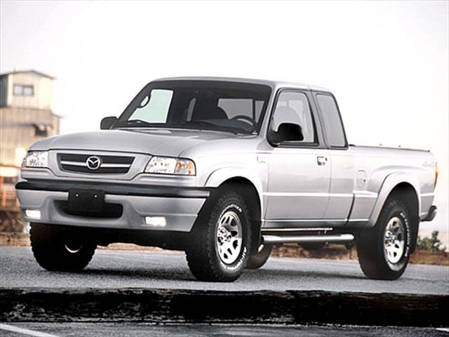 Most Fuel Efficient Trucks of 2003 - 2003 Mazda B-Series Cab Plus
