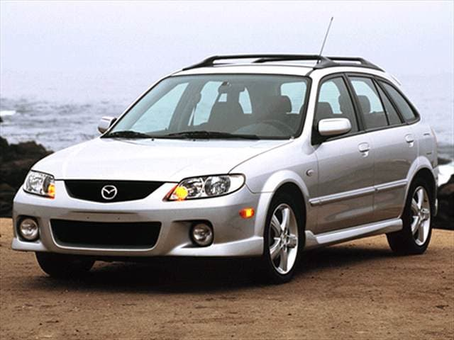 Most Fuel Efficient Hatchbacks of 2003 - 2003 Mazda Protege5