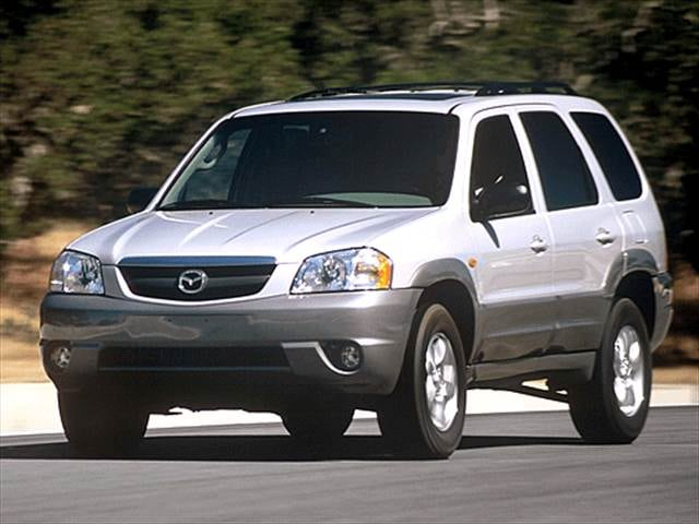 Most Fuel Efficient Crossovers of 2003 - 2003 Mazda Tribute