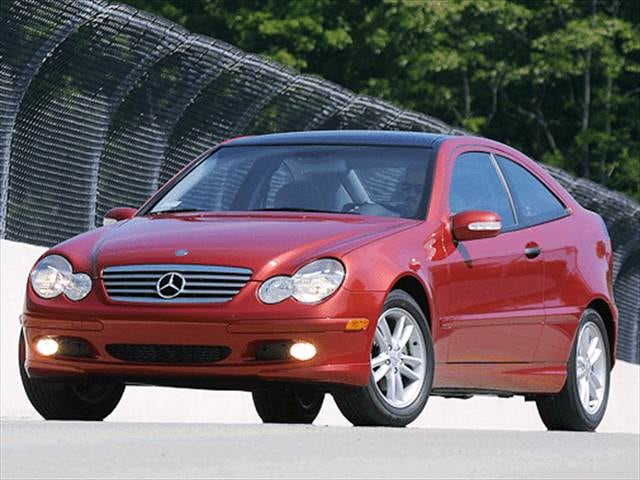 Most Popular Luxury Vehicles of 2003 - 2003 Mercedes-Benz C-Class
