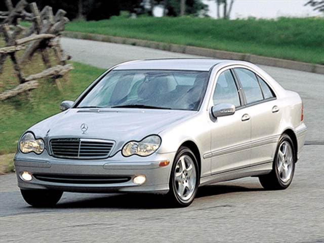 Most Fuel Efficient Luxury Vehicles of 2003 - 2003 Mercedes-Benz C-Class
