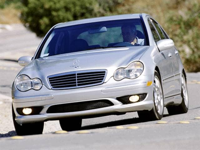 Highest Horsepower Sedans of 2003 - 2003 Mercedes-Benz C-Class