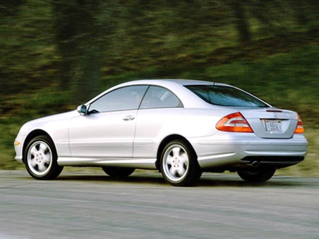 Kelley Blue Book Used Cars Value Calculator >> Used 2003 Mercedes-Benz CLK-Class CLK 500 Coupe 2D Pricing ...