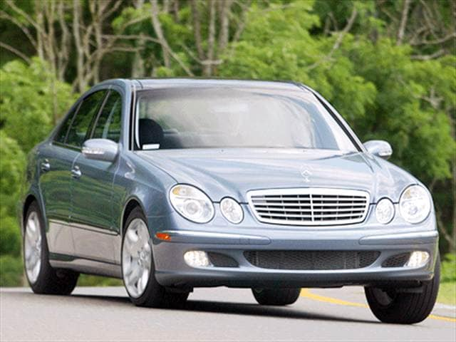 Highest Horsepower Luxury Vehicles of 2003 - 2003 Mercedes-Benz E-Class