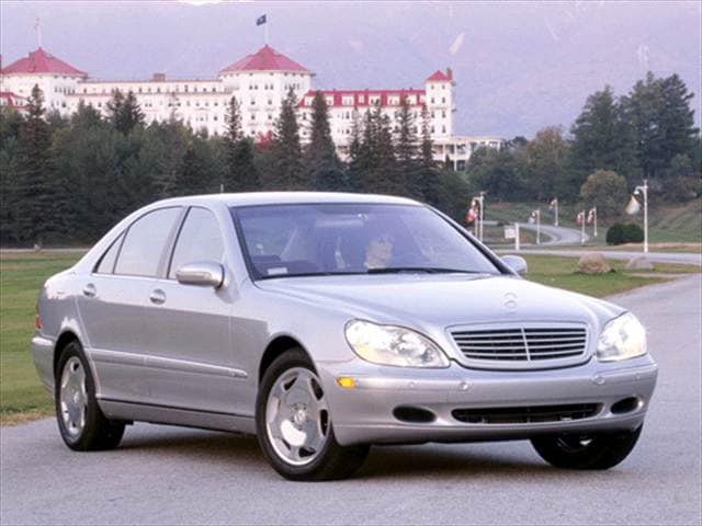Highest Horsepower Sedans of 2003 - 2003 Mercedes-Benz S-Class