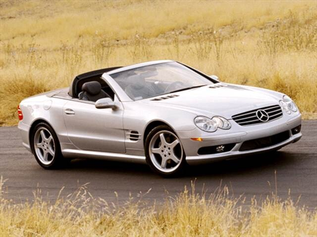 Highest Horsepower Luxury Vehicles of 2003 - 2003 Mercedes-Benz SL-Class