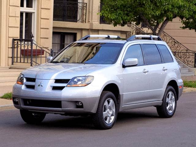 Most Fuel Efficient Crossovers of 2003 - 2003 Mitsubishi Outlander