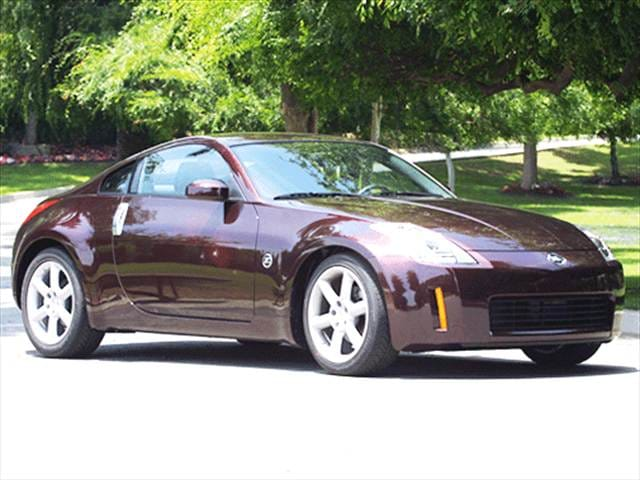 Highest Horsepower Hatchbacks of 2003 - 2003 Nissan 350Z