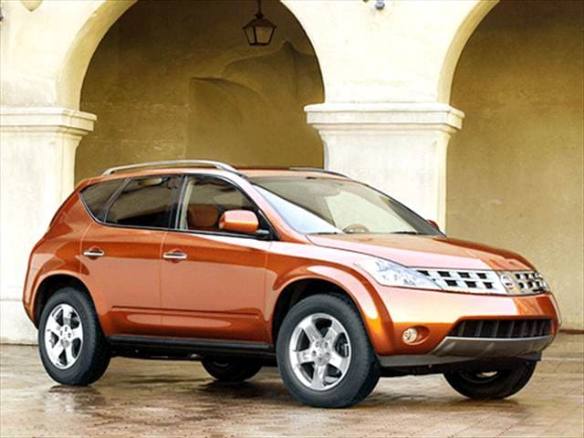 Most Fuel Efficient SUVs of 2003 - 2003 Nissan Murano