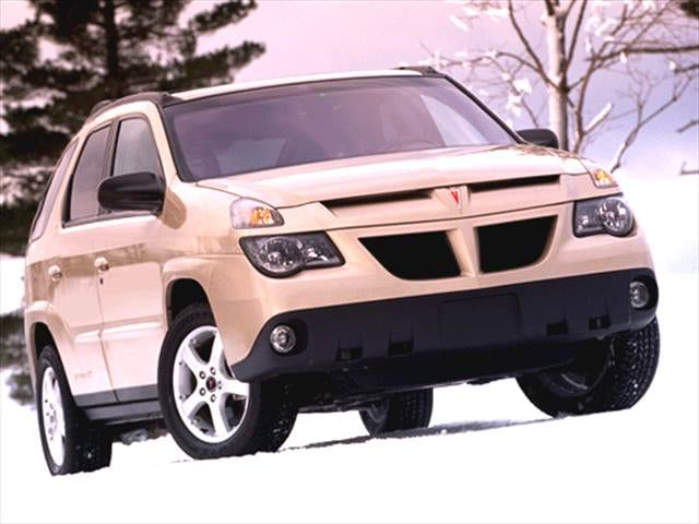 Most Fuel Efficient SUVs of 2003 - 2003 Pontiac Aztek