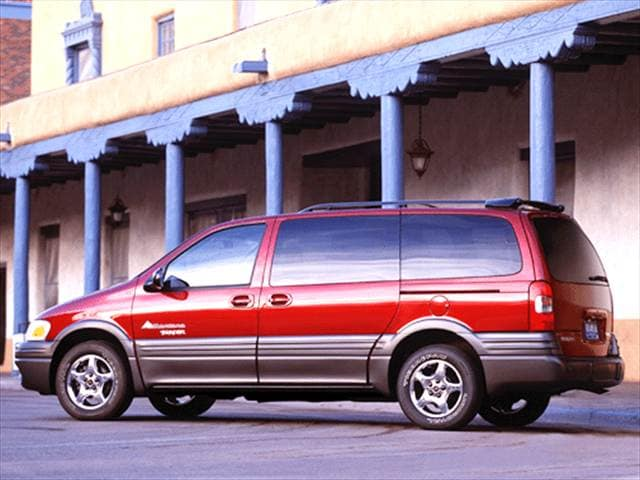 Most Fuel Efficient Vans/Minivans of 2003 - 2003 Pontiac Montana