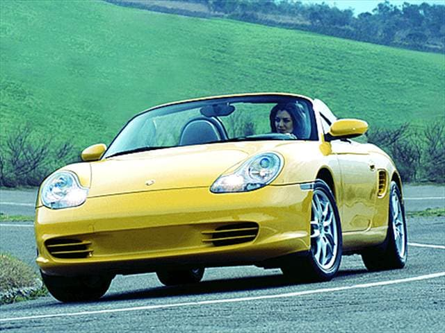 Most Fuel Efficient Convertibles of 2003 - 2003 Porsche Boxster