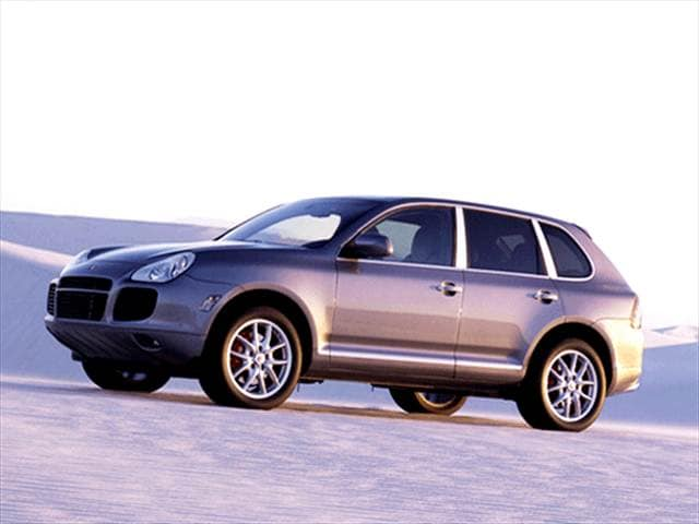 Highest Horsepower Luxury Vehicles of 2003 - 2003 Porsche Cayenne