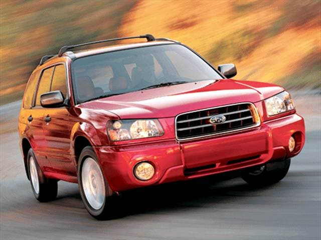 Most Fuel Efficient SUVs of 2003 - 2003 Subaru Forester