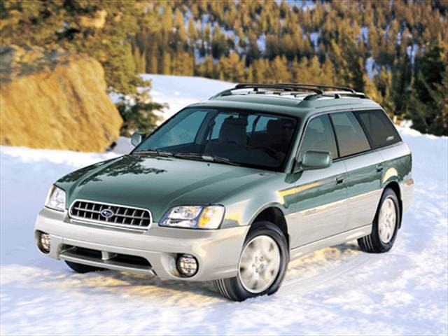 2003 Subaru Outback Wagon 4D Used Car Prices