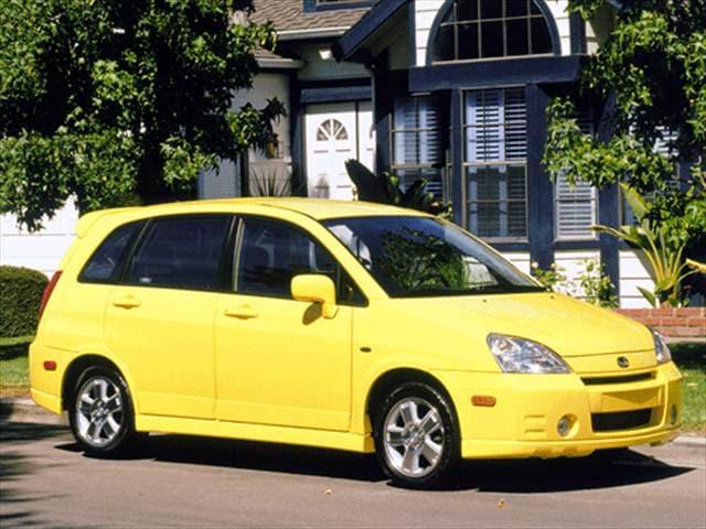 2003 Suzuki Aerio Sx Wagon 4d Used Car Prices Kelley Blue Book