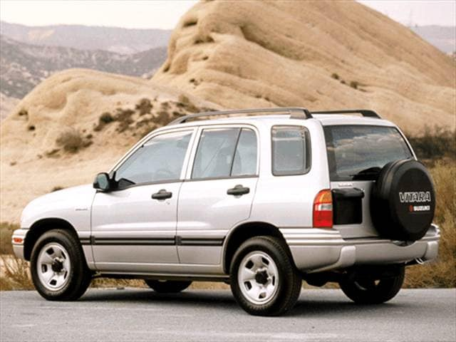 Most Fuel Efficient SUVs of 2003 - 2003 Suzuki Vitara