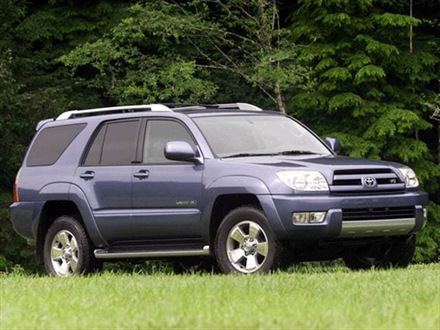 Top Consumer Rated SUVs of 2003 - 2003 Toyota 4Runner