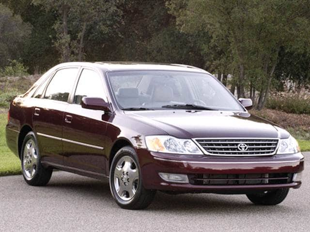 Top Consumer Rated Sedans of 2003 - 2003 Toyota Avalon