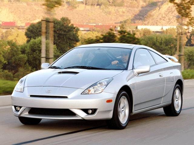Most Fuel Efficient Coupes of 2003 - 2003 Toyota Celica
