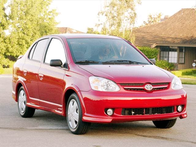 Top Consumer Rated Sedans of 2003 - 2003 Toyota Echo
