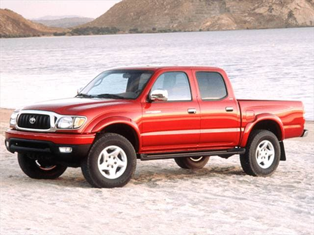Most Popular Trucks of 2003 - 2003 Toyota Tacoma Double Cab