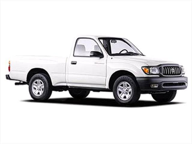 Top Consumer Rated Trucks of 2003 - 2003 Toyota Tacoma Regular Cab