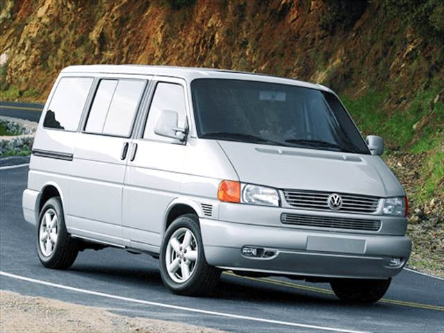 Top Consumer Rated Vans/Minivans of 2003 - 2003 Volkswagen Eurovan