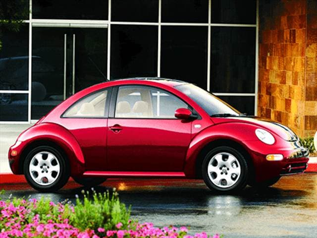 Most Popular Hatchbacks of 2003 - 2003 Volkswagen New Beetle