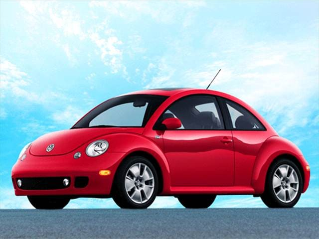 Highest Horsepower Hatchbacks of 2003 - 2003 Volkswagen New Beetle