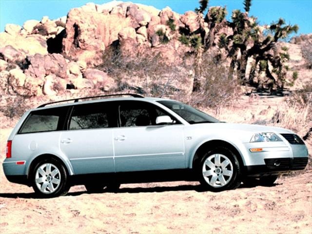Most Fuel Efficient Wagons of 2003 - 2003 Volkswagen Passat