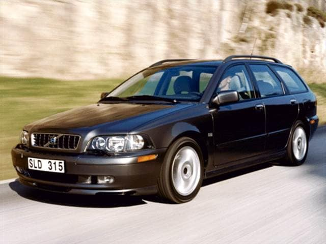 Most Fuel Efficient Wagons of 2003 - 2003 Volvo V40