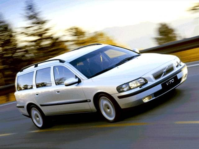 Most Fuel Efficient Wagons of 2003 - 2003 Volvo V70