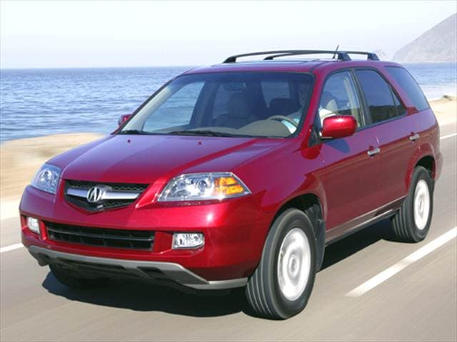 Highest Horsepower Crossovers of 2004 - 2004 Acura MDX