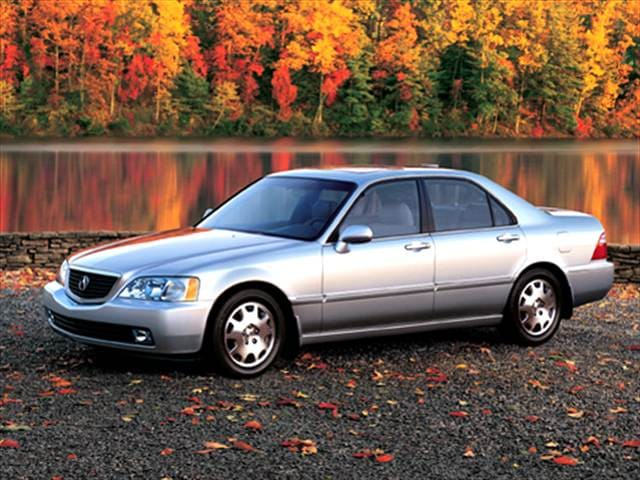 Top Consumer Rated Sedans of 2004 - 2004 Acura RL