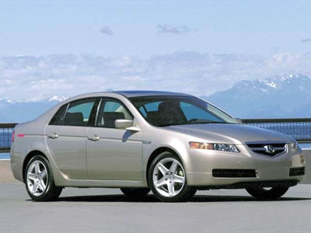 Most Popular Luxury Vehicles of 2004 - 2004 Acura TL