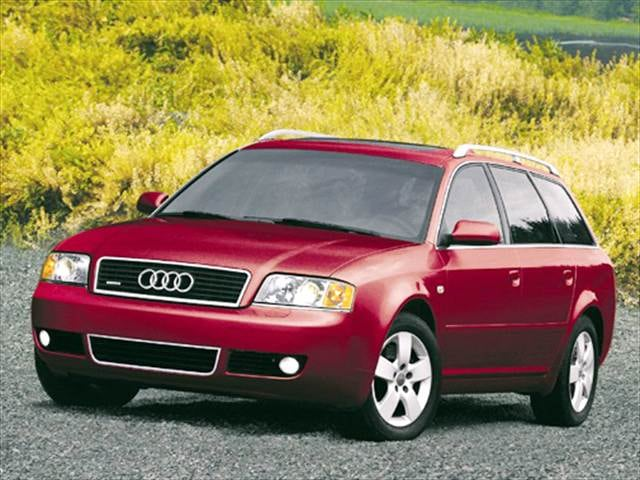 Highest Horsepower Wagons of 2004 - 2004 Audi A6