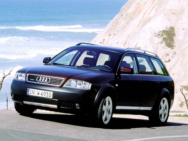 Highest Horsepower Wagons of 2004 - 2004 Audi allroad