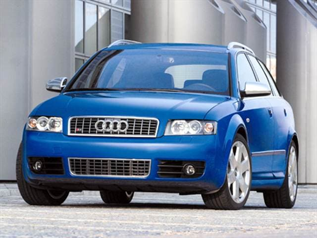 Top Consumer Rated Wagons of 2004 - 2004 Audi S4