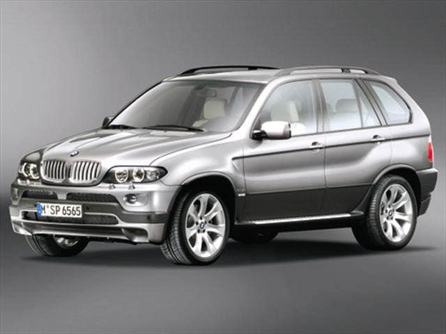 Highest Horsepower SUVs of 2004 - 2004 BMW X5