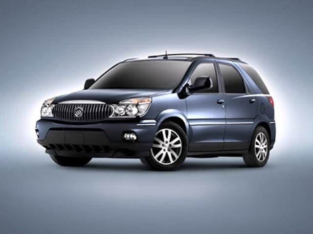 Most Fuel Efficient SUVs of 2004 - 2004 Buick Rendezvous
