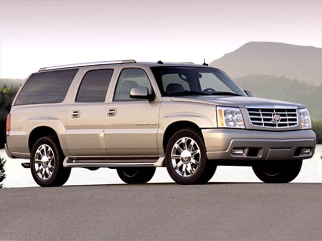 Highest Horsepower SUVs of 2004 - 2004 Cadillac Escalade ESV